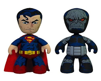 DC Universe Superman & Darkseid 6 Inch Mez-Itz Vinyl Figure Set by Mezco Toyz