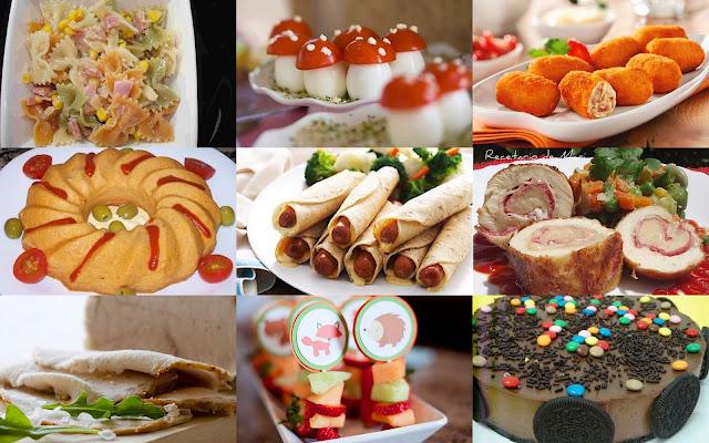 Fiestas con encanto buffet frio para ni os recetas - Comida de cumpleanos en casa ...