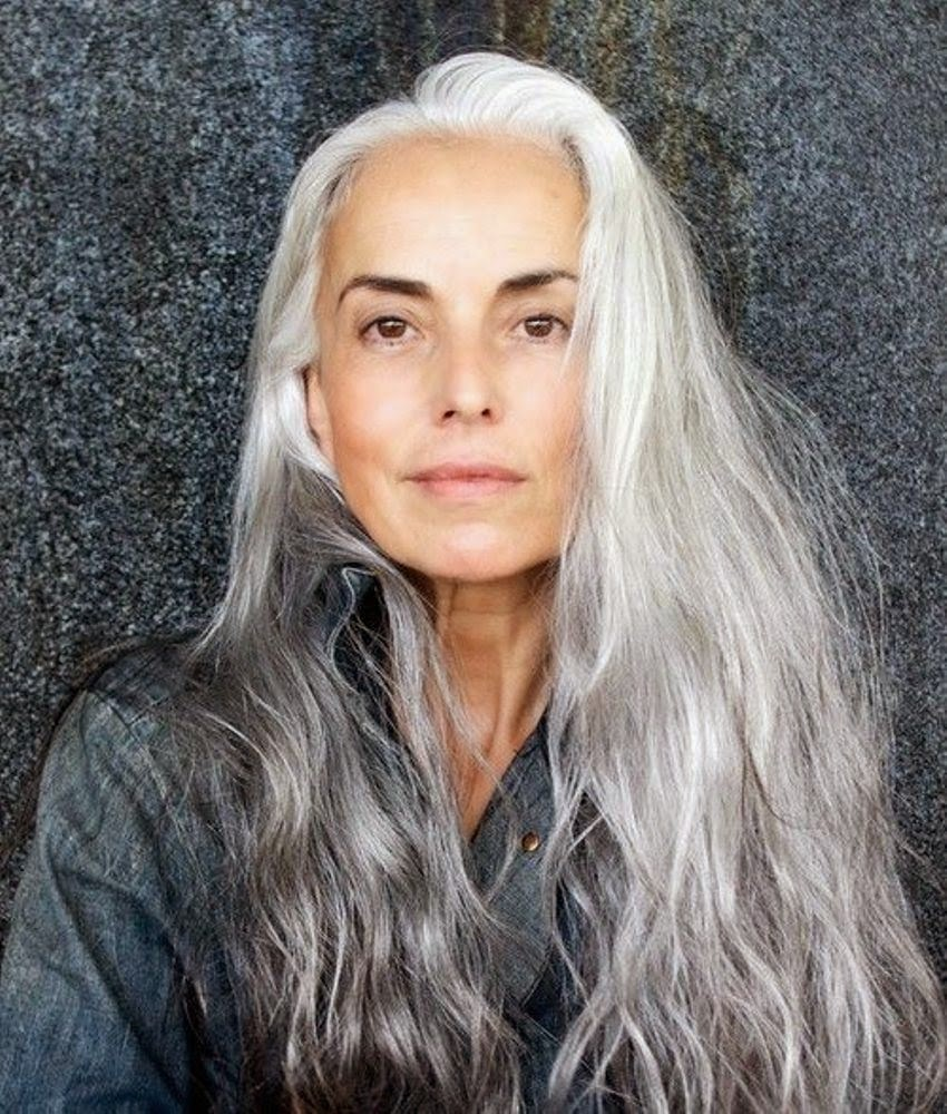 grey hair is a top trend for 2015 best hairstyles one