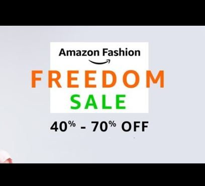 Amazon Fashion freedom Sale