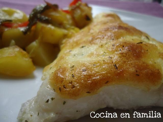 Cocina en familia bacalao al horno con alioli for Cocina en familia