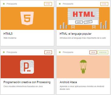 acamica cursos html5 css3 android