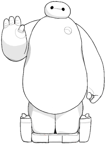 Como Desenhar o Baymax (Big Hero 6)