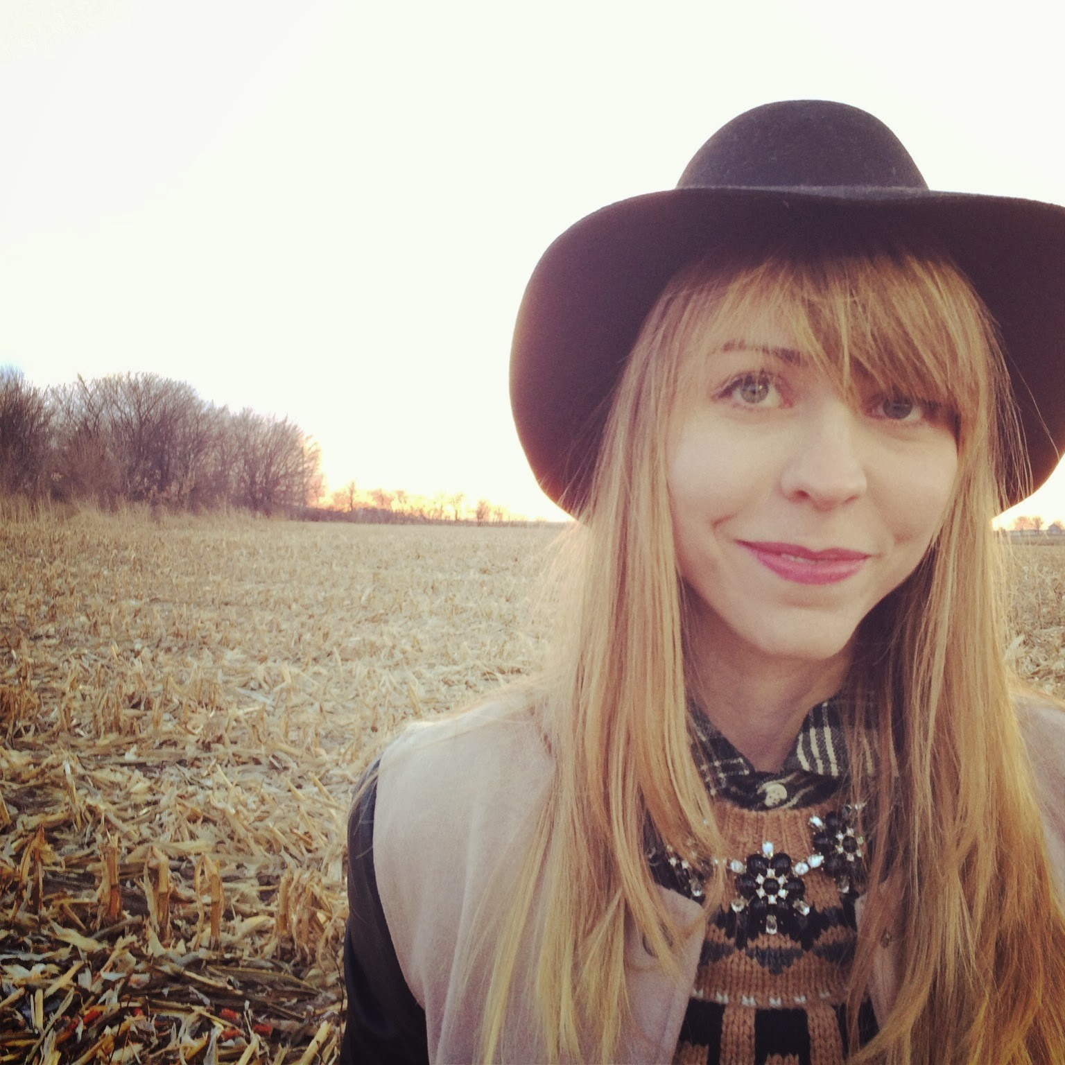 Nebraska, cornfield, Madewell, Topshop, Plaid, Denim, Fashion, Casual, Roots, sunset
