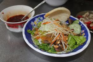 Bún thịt nướng noodles & grilled pork