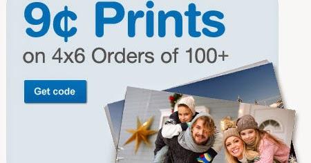 Walgreens photo coupon code 9 cent prints