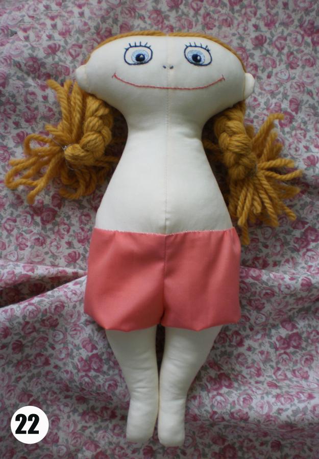 Выкройка сумки для кукольных платьев.  Выкройка платья на куклу 43 см.