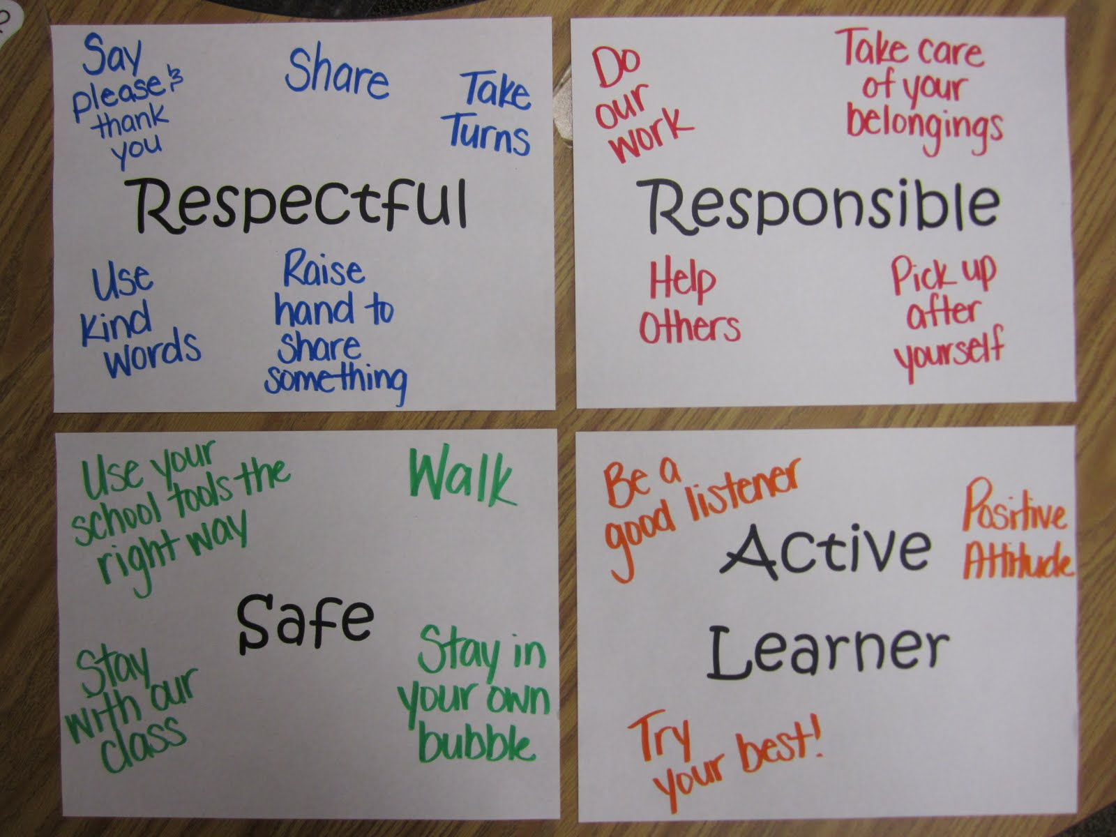 Classroom Pledge Ideas ~ First grade rocks learning the ropes of