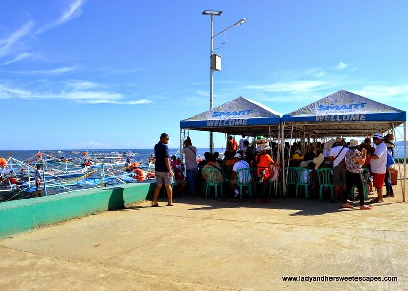 Sabang Wharf in Puerto Princesa