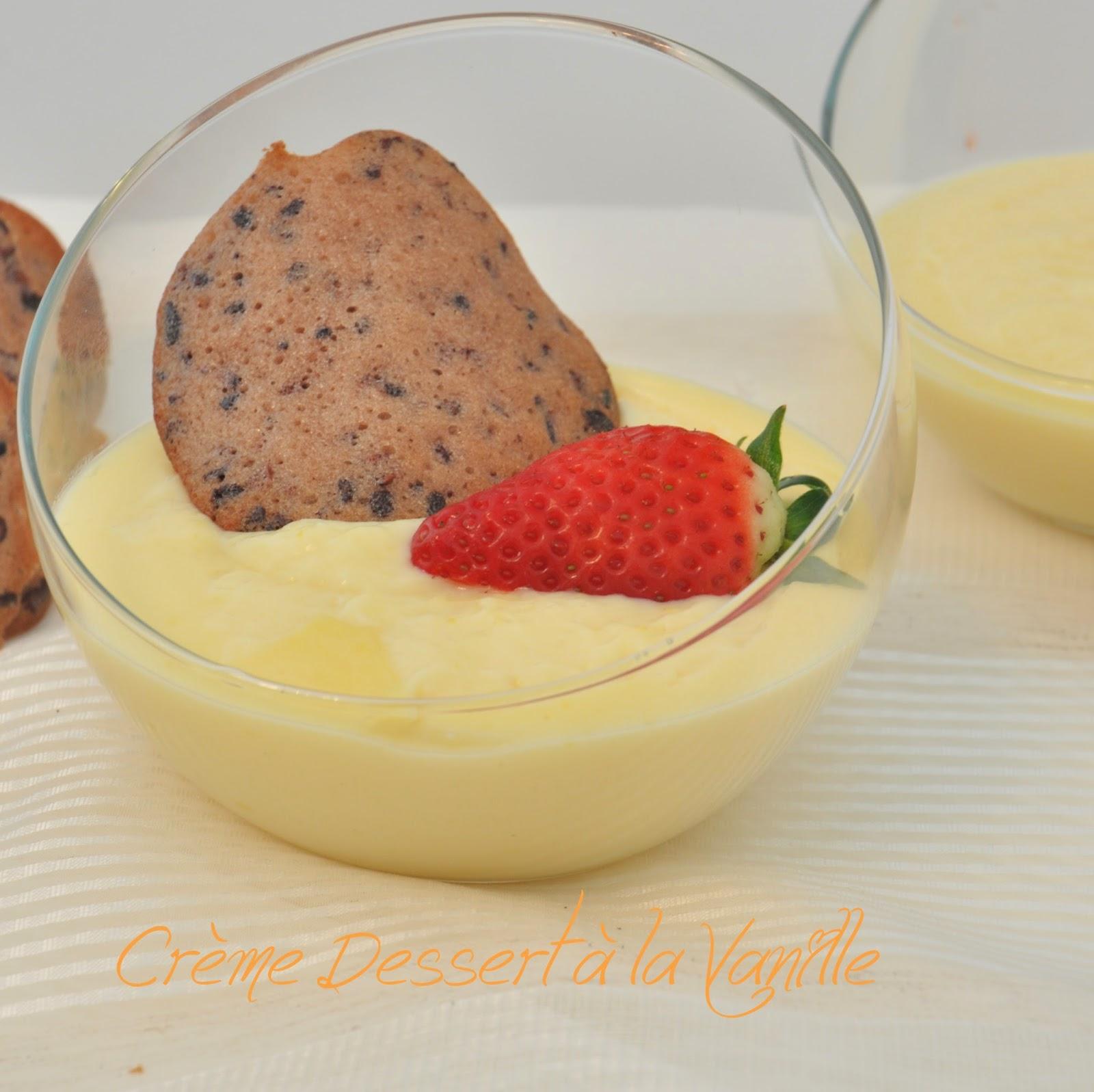 de tambouille en barbouille cr 232 me dessert 224 la vanille