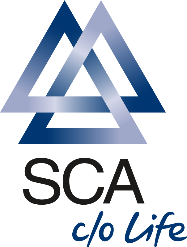 SCA logo, logotype. All logos, emblems, brands pictures gallery.