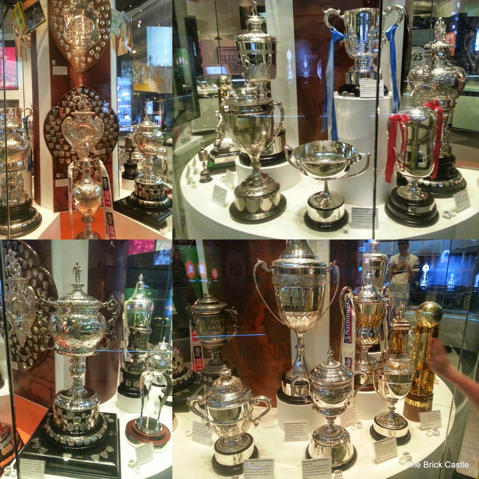 The National Football Museum at Urbis, Manchester trophy cabinet collection