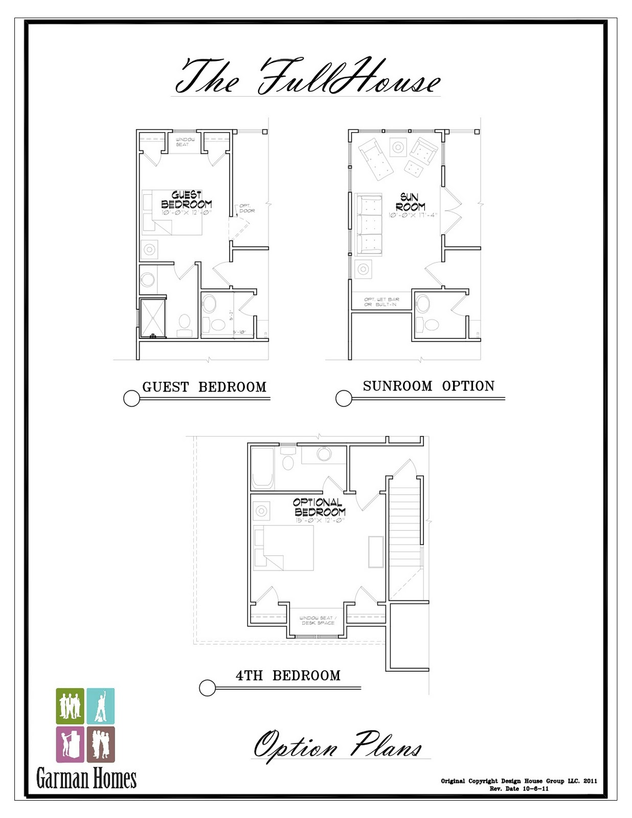 Garman homes unplugged the full house and why we call it for Full house house plan