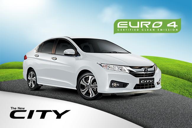 Honda City Euro 4