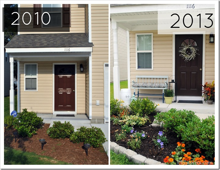 PBJstories.com curb appeal before and after