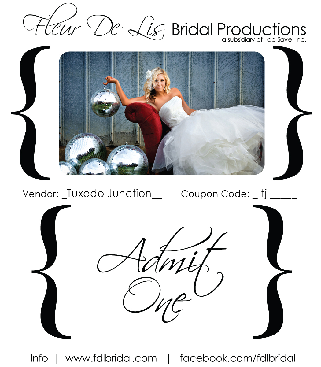 Tuxedo junction dallasft worth tuxedo junction is very excited to be a part of the upcoming bridal shows hosted by fleur de lis bridal productions we would like to invite you to visit stopboris Images