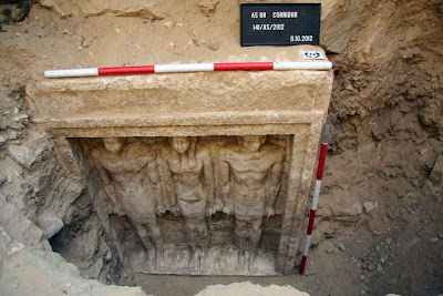 4500 year old princess tomb unearthed in Egypt