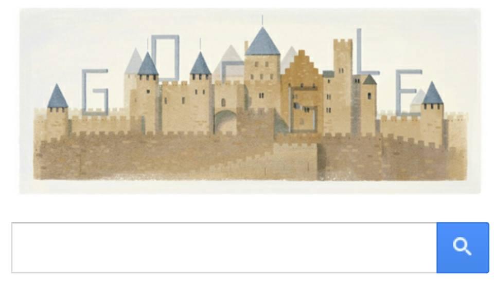 Google Doodle Eugène-Emmanuel Viollet-le-Duc 200th Birthday