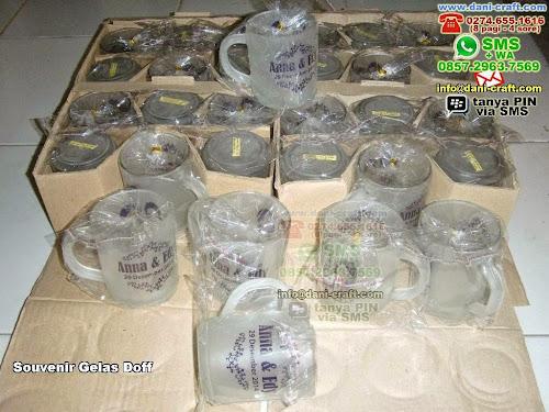 Souvenir Gelas Doff Gelas Beling Yogyakarta