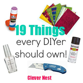 19 Things every DIYer should own.