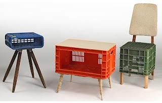Ideias para decorar e utilizar caixas de plástico!