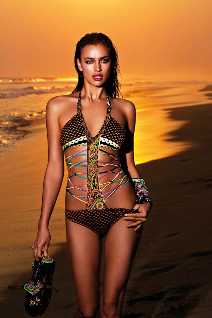 Irina Shayk – Agua Bendita Swimwear Photoshoot