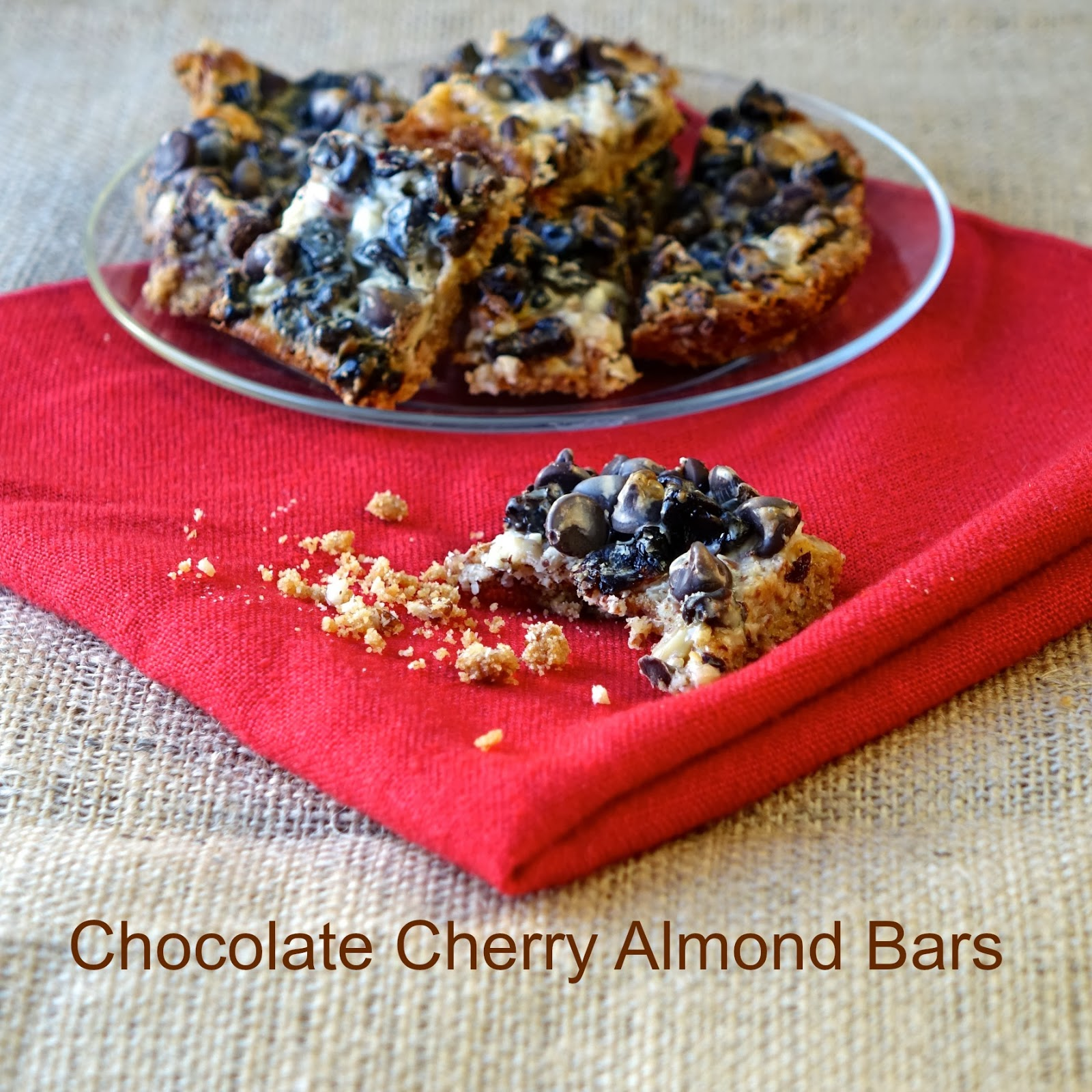 Cherry Chocolate Almond Bar Recipe — Dishmaps