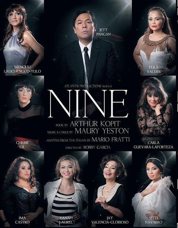 Atlantis Productions' NINE Opens Tonight, 9/21