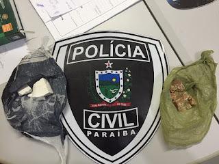 Mulher é presa com drogas em ônibus que faz a linha Picuí a Cuité