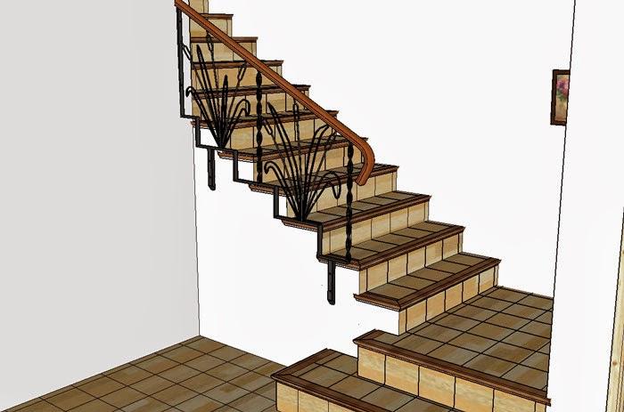 Fabriquer Une Rampe D Acces En Bois - BatirSaMaison net Faire une Rampe en fer forgé et bois (2i u00e8me Partie)