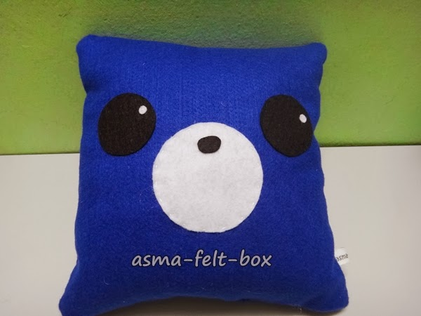 Clear Stock Sale Small Felt Plush Pillow