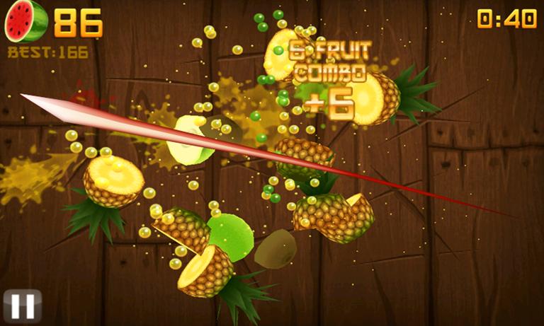 screenshot Fruit Ninja HD PC2