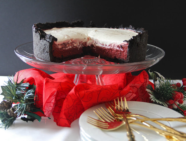 Red Velvet Mississippi Mud Pie