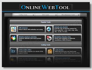 Onlinewebtool - ferramentas online para webmasters