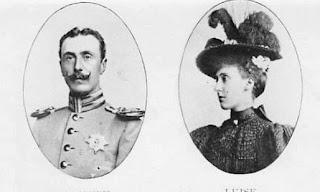 Aribert von Anhalt et Marie Louise de Schleswig-Holstein