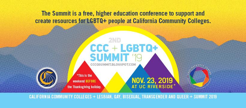 2nd CCC + LGBTQ+ Summit