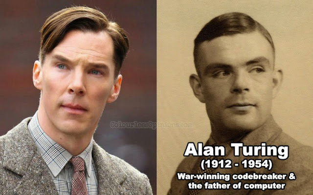 Alan Turring Benedict Cumberbatch imination game