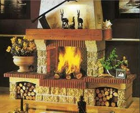 Fotos de chimeneas construccion chimeneas rusticas for Construccion de chimeneas de lena