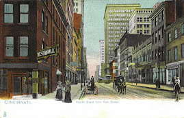 CINCINNATI POSTCARDS: Fourth Street Looking West