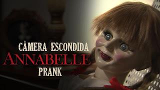 Annabelle's Prank pegadinha humor câmera escondida