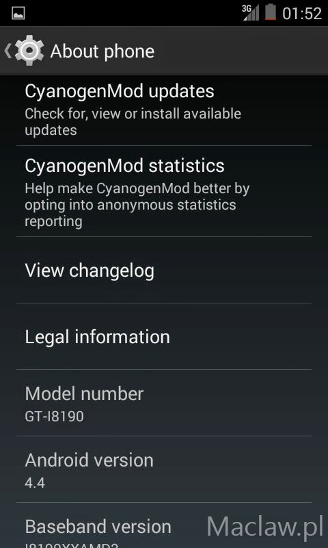 [CyanMod Rom] for Galaxy S3 mini