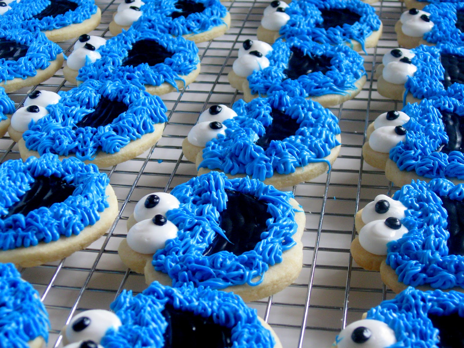 Cookie Monster Cookies | Searching for Dessert
