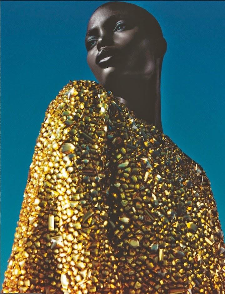 Jeneil Williams by Txema Yeste for Numéro #150 February 2014