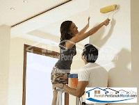 proses cat di rumah pontianak