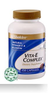 Vitamin E Shaklee kaya selenium dan tinggi antioksidan