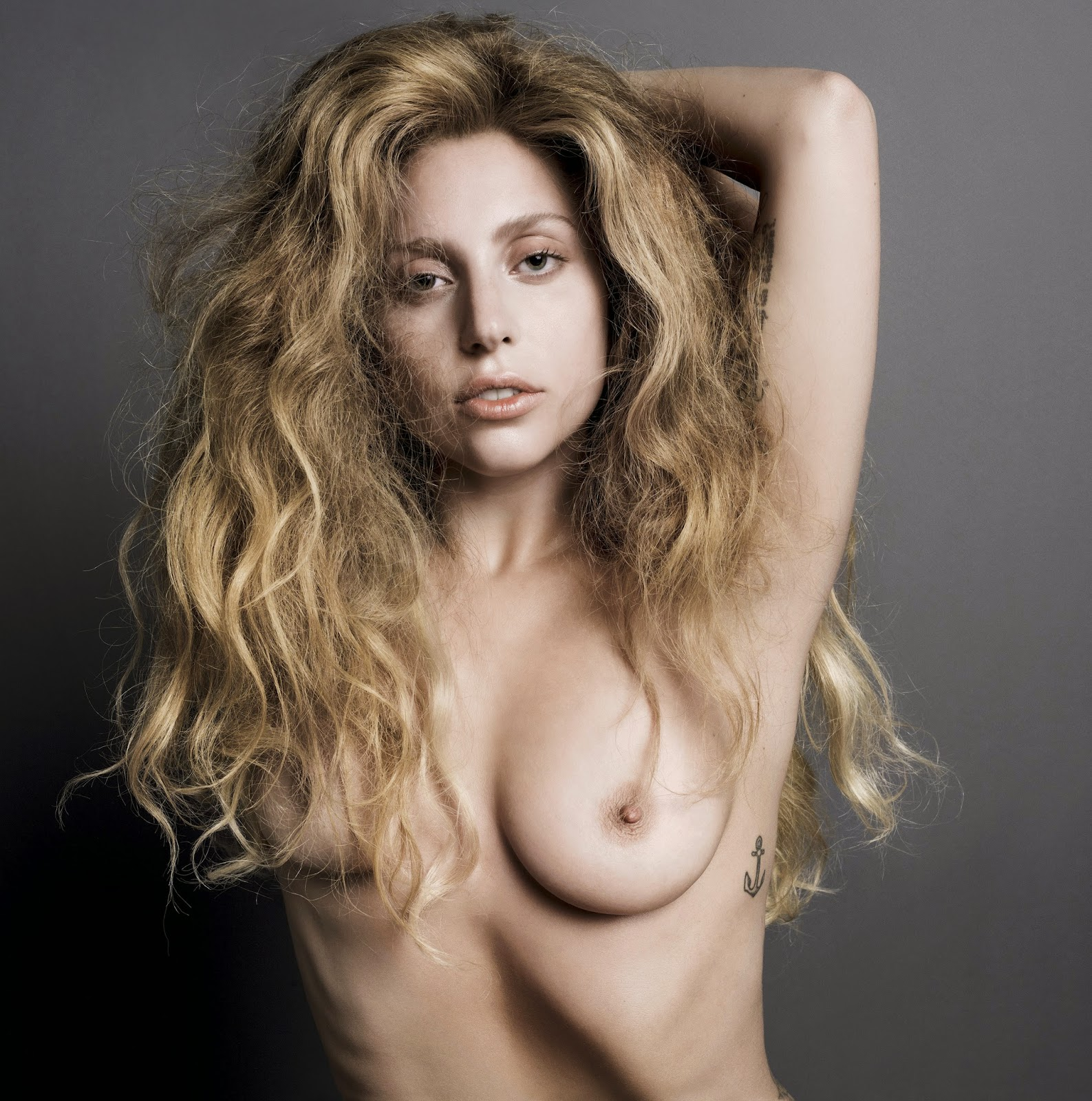 Gaga boobs nude