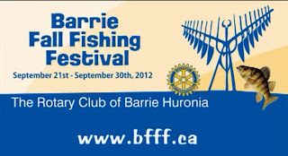 Image Barrie Fall Fishing Festival Banner 2012
