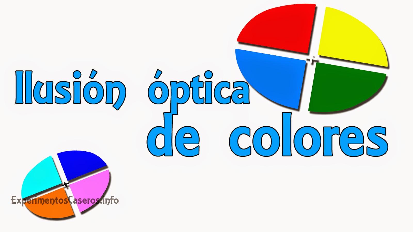 Ilusión óptica impresionante de colores, Experimentos Caseros para niños, experimentos caseros, experimentos sencillos, ilusiones ópticas, ilusión óptica, experimentos para niños, experimentos sencillos, experimentos, experimento, feria de ciencias, experimento para la feria de ciencias, experimento de psicología, psicología