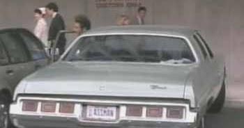 1973 Chevy Impala Kramer S Ass Man Car From Seinfeld