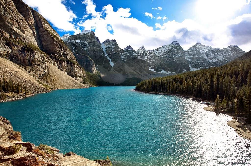 Moraine Lake – Canadá